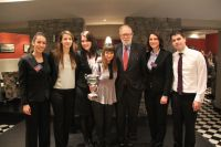 Zagreb Law team wins 1st place at the regional Oxford South East Europe Price Media Law Moot Court Competition