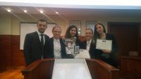 Zagreb Law team wins regional round of the Price Media Law Moot Court competition