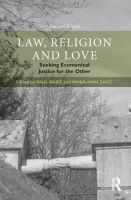 Law, Religion and Love: Seeking...