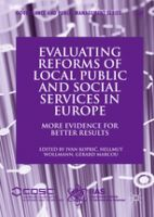 Evaluating Reforms of Local Public and Social Services in Europe